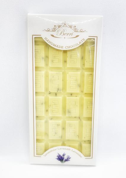 Ciocolata artizanala alba cu LAVANDA [2]