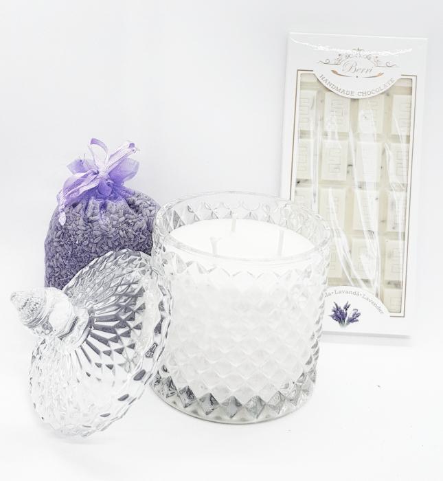 Set cadou Lavender Sweet Candle [0]