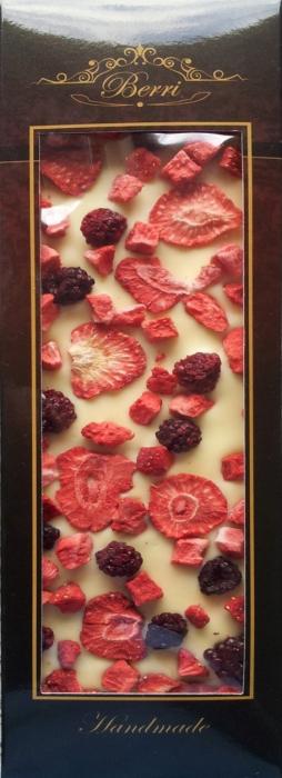 Ciocolata artizanala alba cu fructe liofilizate [0]