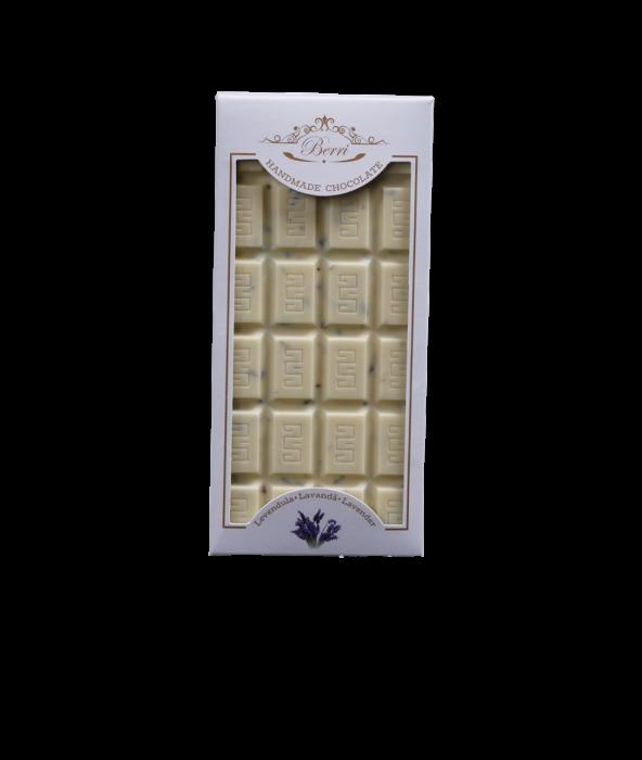 Ciocolata artizanala alba cu LAVANDA [0]