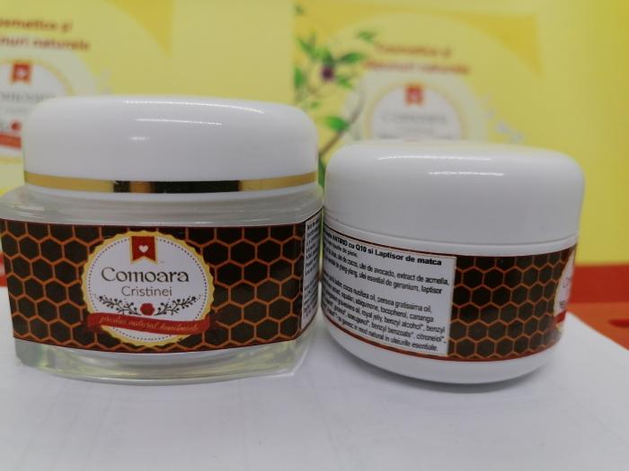 Crema naturala ANTIRID DE NOAPTE cu Q10 & laptisor de matca [0]