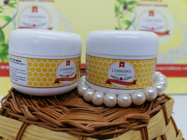 Crema naturala pentru zile reci cu galbenele & laptisor de matca [0]