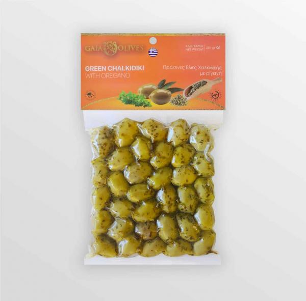 Masline marinate cu oregano Gaia Halkidiki [0]