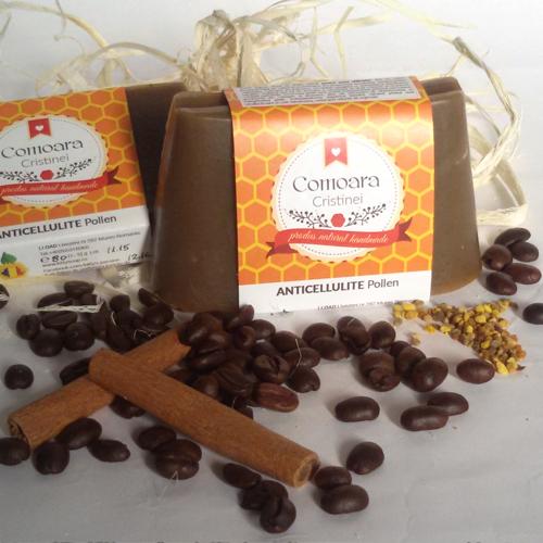SAPUN 100% NATURAL anticelulitic scortisoara si cafea [0]