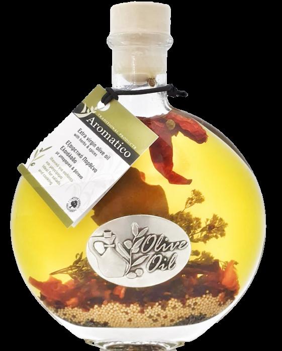 Ulei de masline aromatic cu ierburi si condimente naturale FLAMINIA [0]