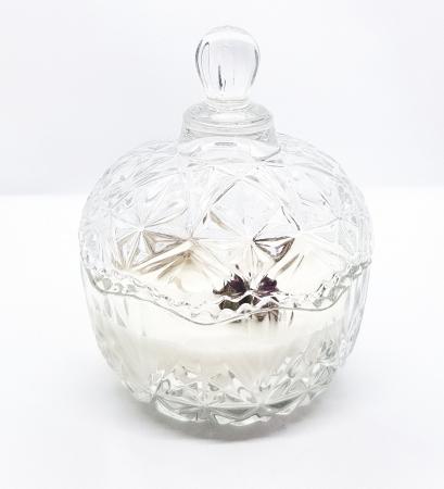 Lumanare parfumata tip bomboniera cu aroma de iasomie & ambra [1]
