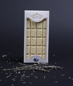 Ciocolata artizanala alba cu LAVANDA [1]