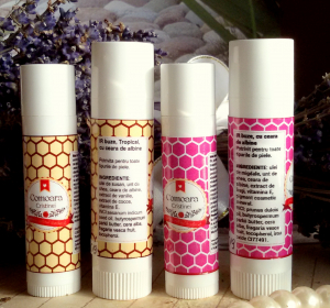 Ir de buze natural cu ceara de albine &  vitamina E [0]