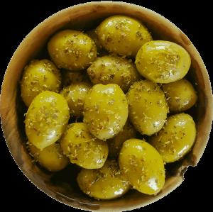 Masline marinate cu oregano Gaia Halkidiki [1]