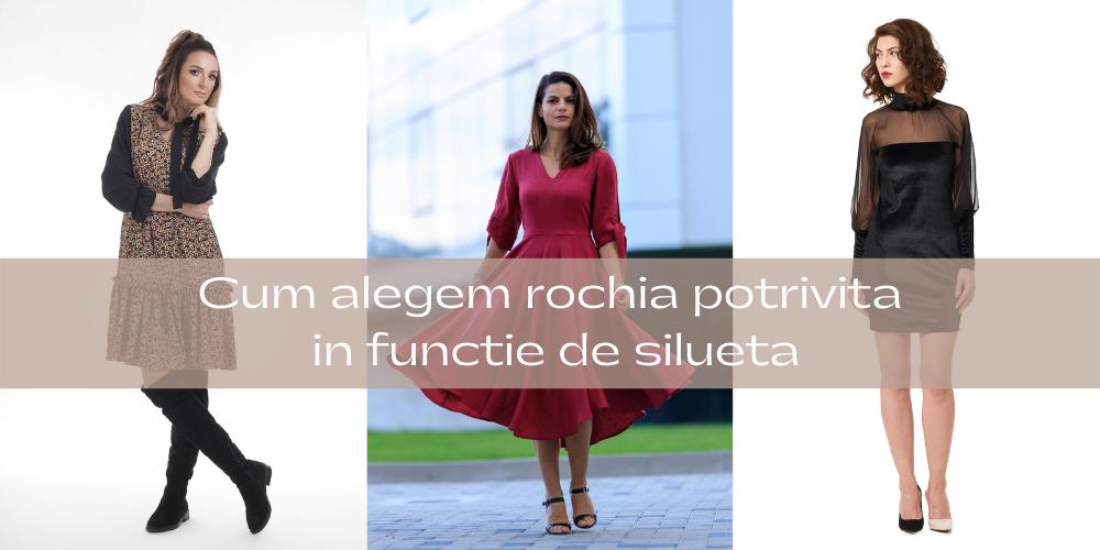 Cum alegem rochia potrivita in functie de silueta