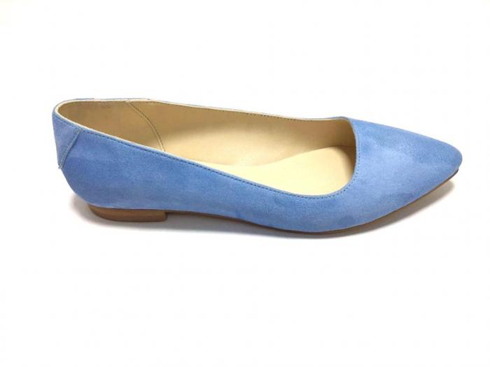 Balerini din piele Blue Velvet CoraN 0