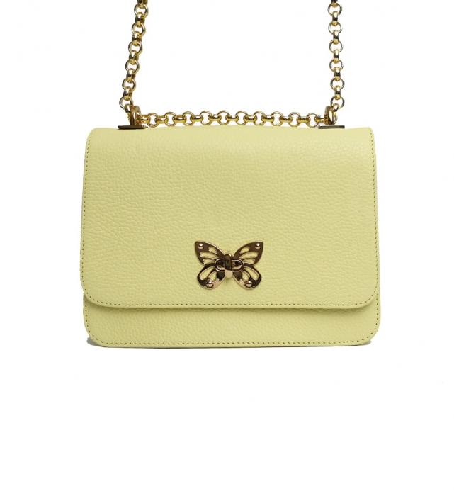 Geanta din piele Ivoir Butterfly 0