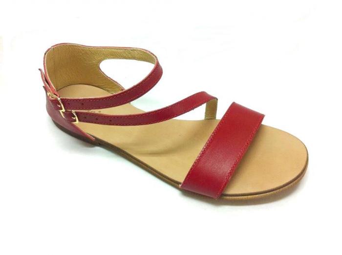 Sandale dama din piele Red Anna [0]