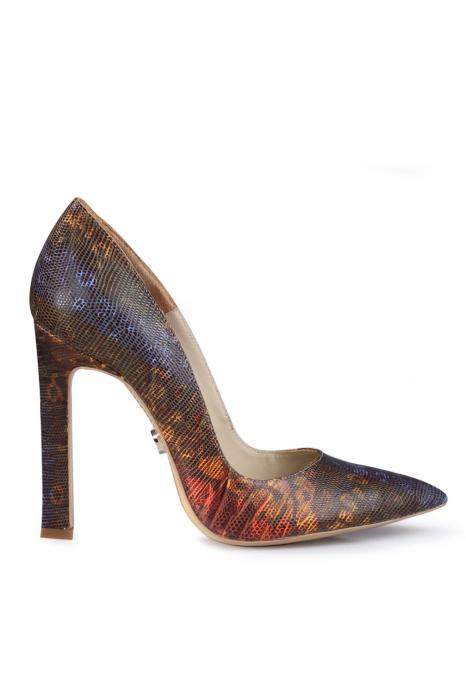 Pantofi Mihai Albu din piele texturata 0