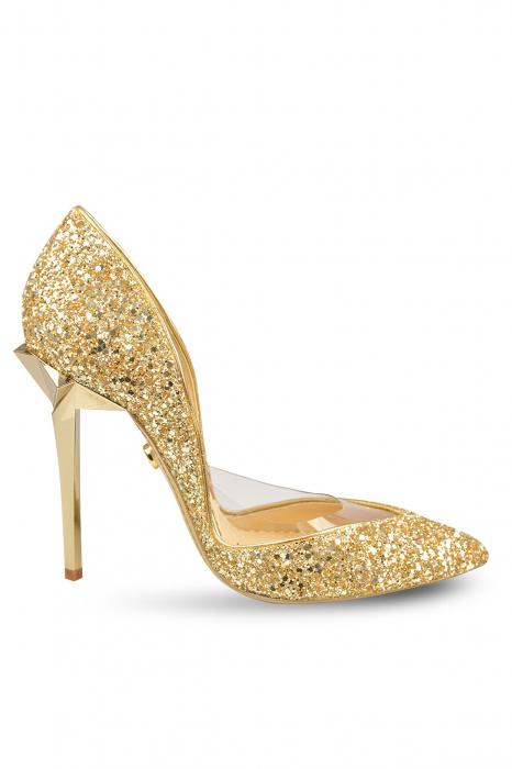 Pantofi Mihai Albu Glitter Sapphire Stealth 0