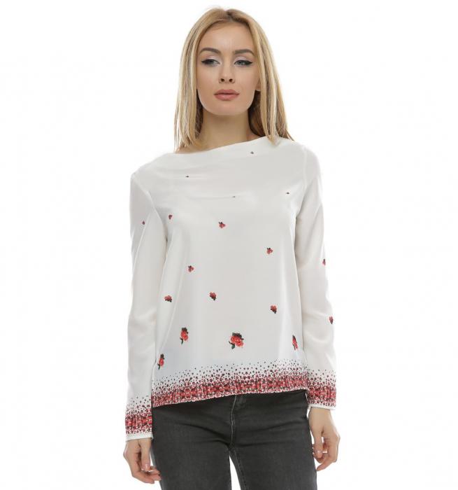 Bluza cu imprimeu floral B102 [0]