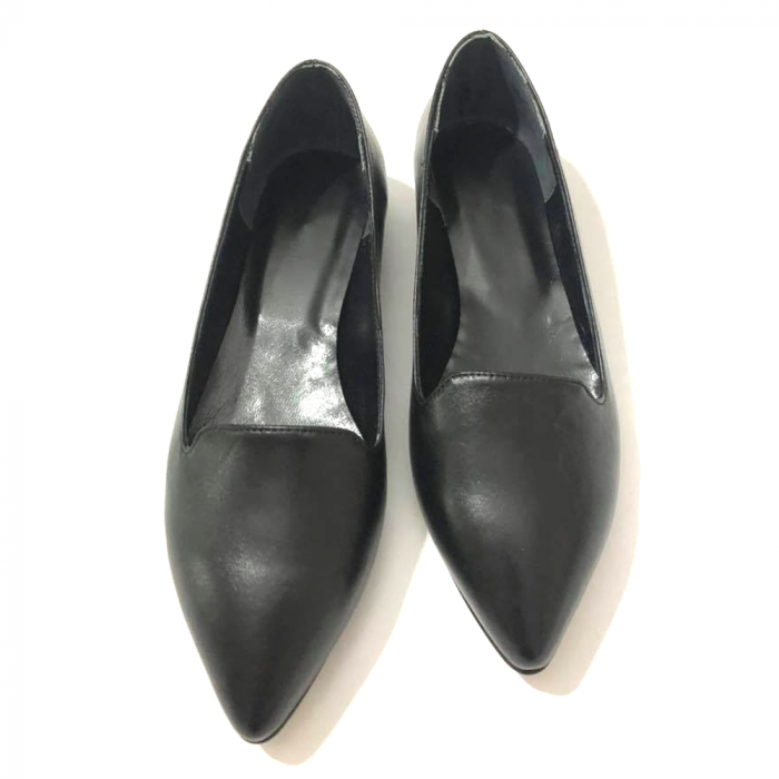 Loafers dama din piele naturala Black Merry 3