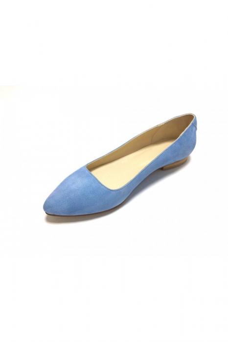 Balerini din piele Blue Velvet CoraN 3