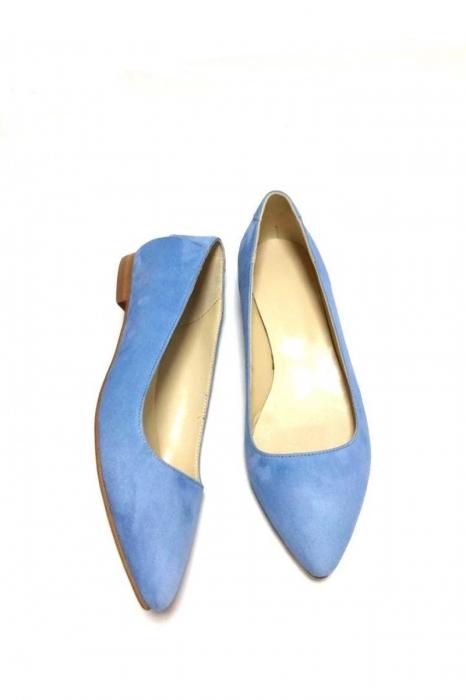 Balerini din piele Blue Velvet CoraN 2