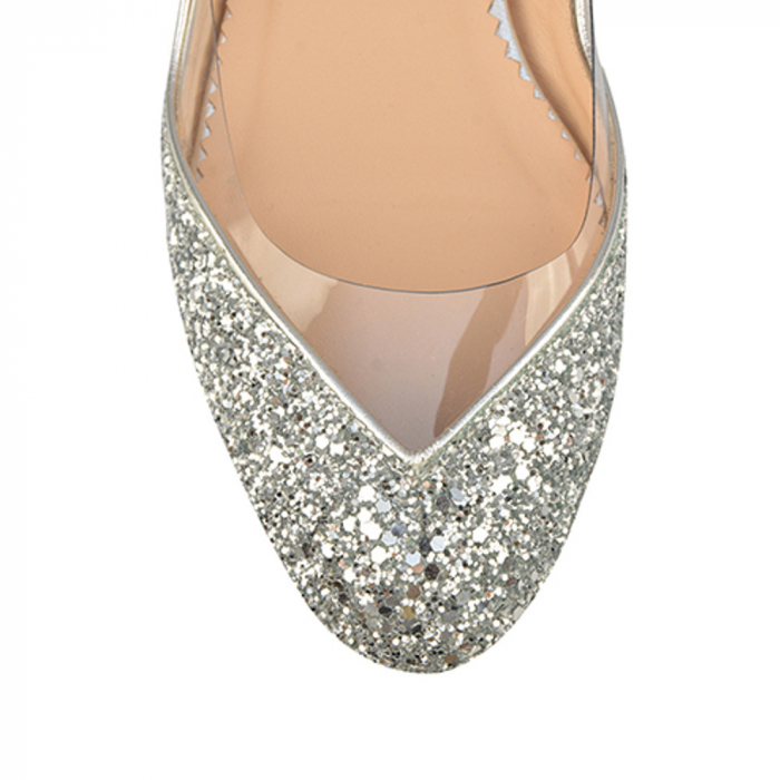 Balerini Mihai Albu din piele Silver Glamour