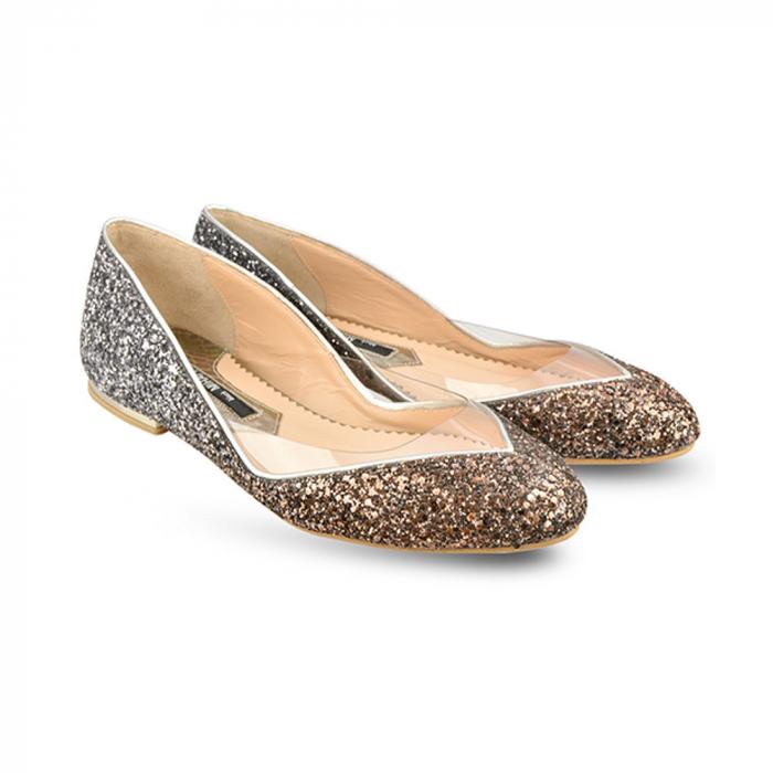 Balerini Mihai Albu din piele Sapphire Glamour [1]