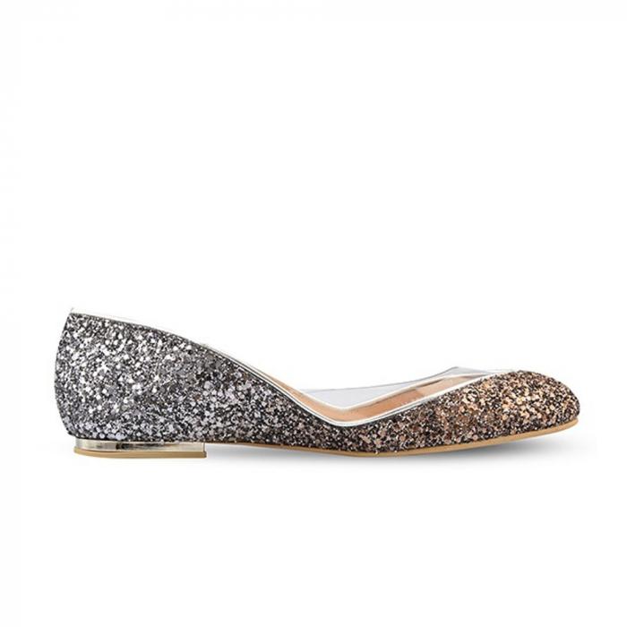 Balerini Mihai Albu din piele Sapphire Glamour [0]