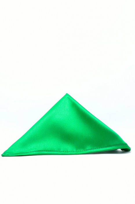 Batista verde din satin