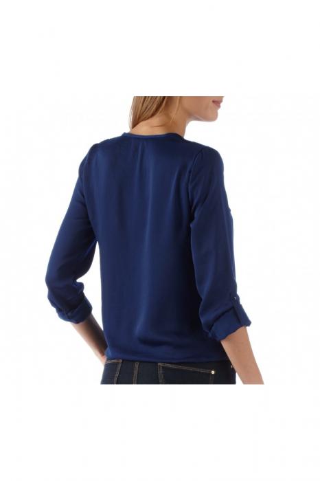 Bluza Camaieu V-neck petrecuta 1