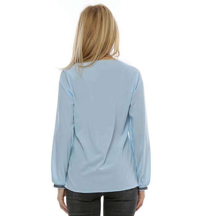 Bluza cu aplicatie multicolora B97 2