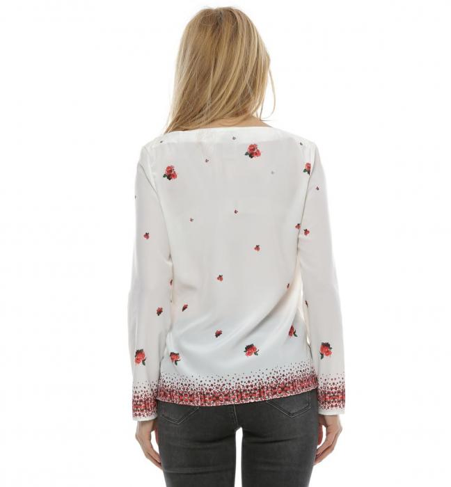 Bluza cu imprimeu floral B102 2