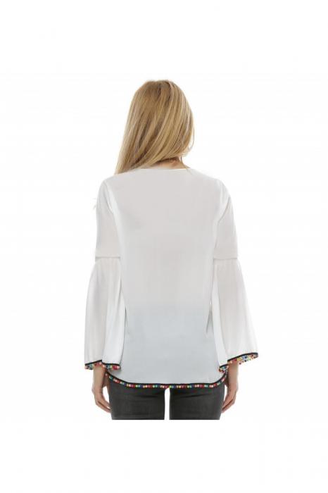 Bluza cu maneca clopot B96, XL 2