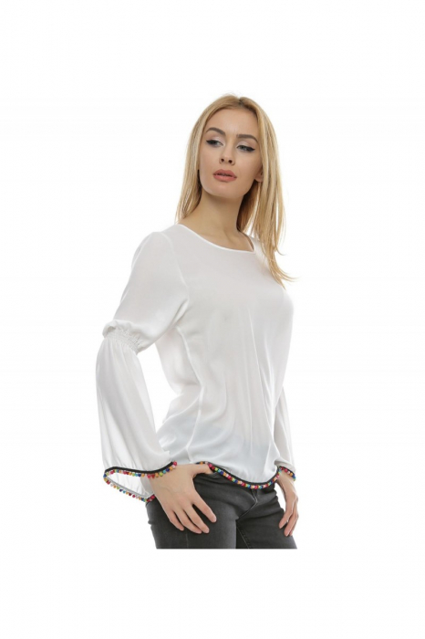 Bluza cu maneca clopot B96, XL 1