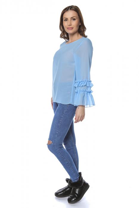 Bluza dama din vascoza Blue B124 1
