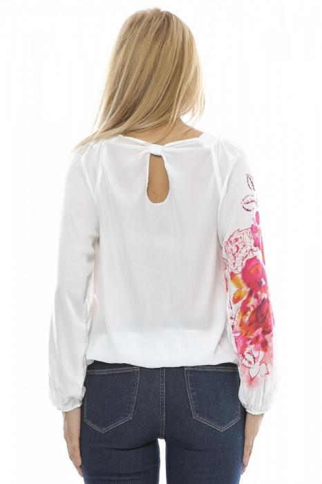 Bluza dama motive florale B91 2