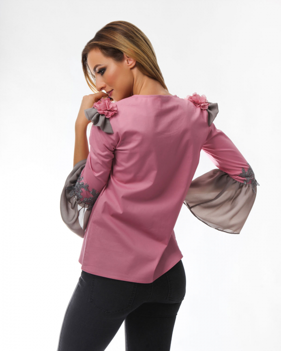 Bluza eleganta Raspberry Pink 1