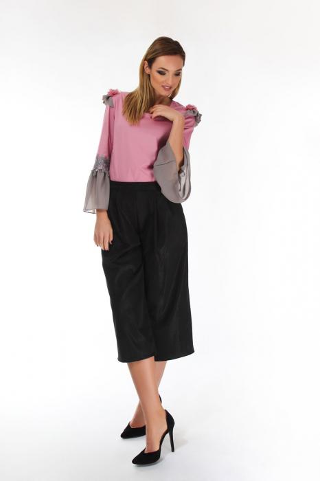 Bluza eleganta Raspberry Pink