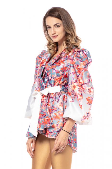 Sacou din tafta One size fits all Cherry Blossom [1]