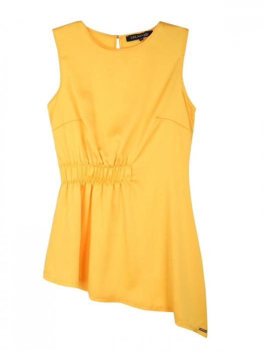 Bluza office fara maneci Yellow Dream [5]