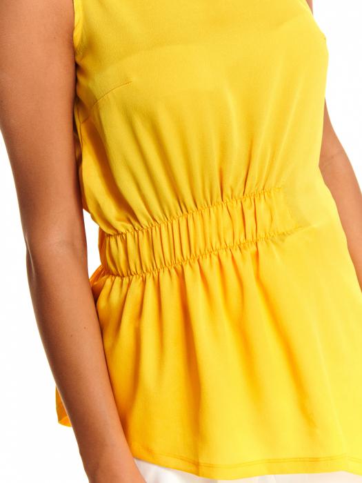 Bluza office fara maneci Yellow Dream [4]