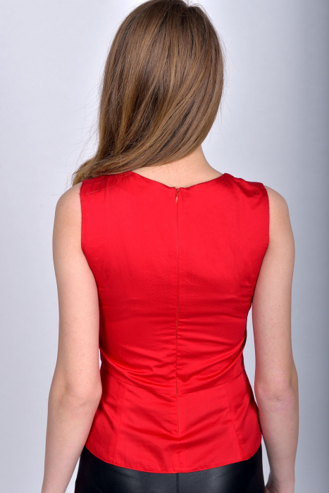 Bluza office fara maneci Red Passion 1