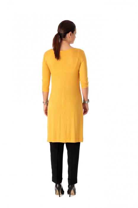 Bluza lunga din tricot fin Iolanda [3]
