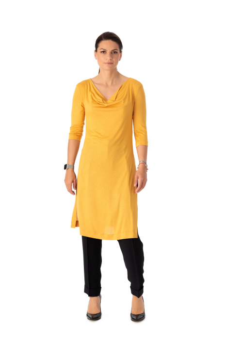 Bluza lunga din tricot fin Iolanda [2]