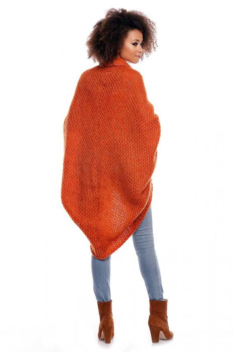 Cardigan din mohair Orange 3
