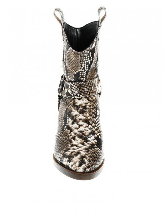 Ciocate dama din piele naturala snake Chantal 2