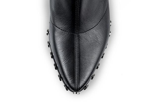 Ciocate Mihai Albu din stretch negru cu accesorii metalice 3
