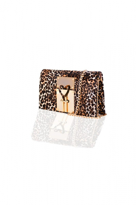 Clutch Mihai Albu Animal Print 1