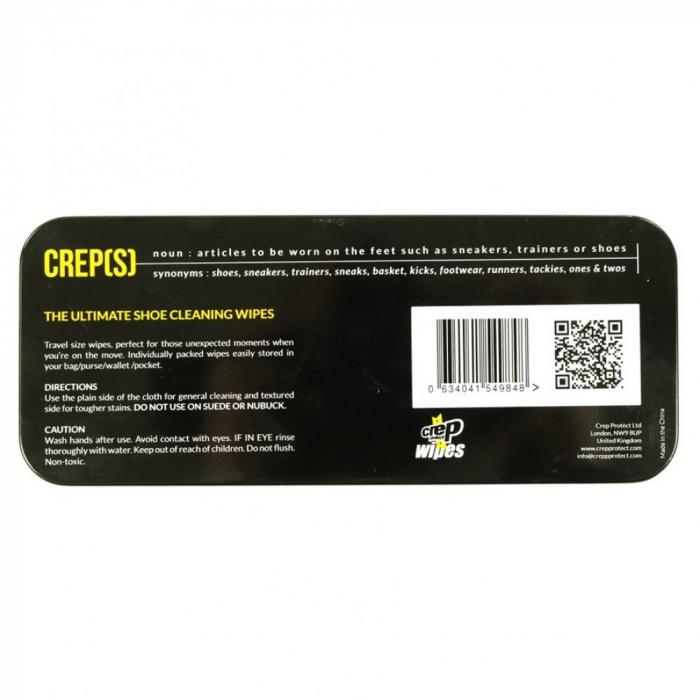 Servetele umede pentru curatare incaltaminte Crep Protect Wipes [2]