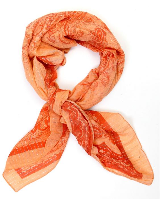 Esarfa orange 0
