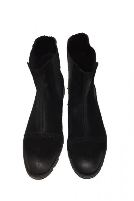 Ghete din piele Dana Black Vintage 0