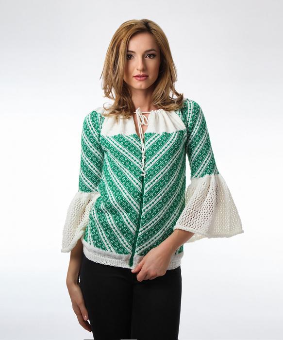 IE tricotata cu maneci clopot Onibon 0